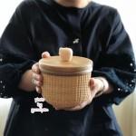 ナンタケットバスケット教室品川キャンディーバスケットの作り方廣田
