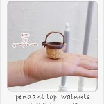 pendant top walnuts 三田さん