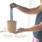 ナンタケットバスケット教室姫路初めてのバスケット5ラウンド素敵なかごバック森下1