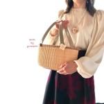 素敵なナンタケットバスケット教室姫路バントレイ北野お花モチーフ